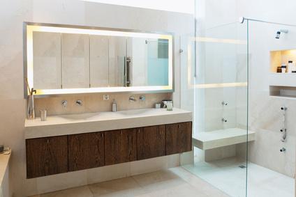 installation meubles salle de bain