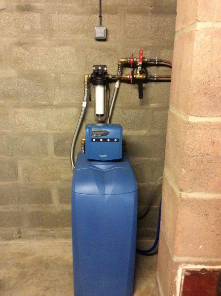 installation adoucisseur d'eau à Poitiers