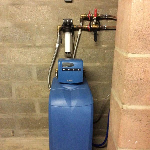installation adoucisseur d'eau à Saint Maurice la Clouère-86160