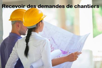 demande de chantiers